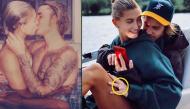 Hailey Baldwin khoe ảnh đeo nhẫn đính hôn 11 tỷ đồng và ngồi vào lòng Justin Bieber rất tình tứ