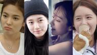 Học lỏm bí kíp sở hữu mặt mộc 100% vẫn xinh đẹp khó ai bì như 4 sao nữ Hàn đình đám