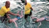 Mẹ tự hào chia sẻ khoảnh khắc đáng kinh ngạc của con trai: Tự cứu bản thân khỏi chết đuối