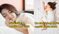 Nhìn tư thế ngủ, bật mí ngay tính cách và sức khỏe con người một cách chính xác