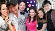 """Những cặp vợ chồng """"lệch pha"""" nhan sắc trong showbiz Việt"""