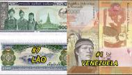 """Những đồng tiền có giá """"rẻ"""" nhất thế giới, có nơi còn dùng cân thay vì đếm tiền"""