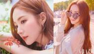 Ảnh tạp chí chụp cận mặt của Park Min Young khiến netizen phát sốt vì hoàn hảo không một góc chết