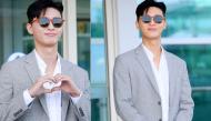 """Theo bước Park Min Young, Park Seo Joon """"đốn tim"""" fan với vẻ đẹp tượng tạc """"phó chủ tịch"""" ở sân bay"""