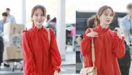 Mặc váy đỏ khoe làn da trắng sứ, Kim So Hyun khiến fan trụy tim vì xinh đẹp quá mức cho phép