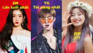 """Sự khác nhau trong """"công thức"""" lựa chọn trưởng nhóm của bộ ba trùm giải trí xứ Hàn"""