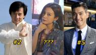 Top 10 nghệ sĩ giàu nhất châu Á: Tự hỏi đến bao giờ mới có sao Việt góp mặt?