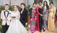Sao Việt dự đám cưới người thân: Người đẹp lấn át cô dâu, người bị chê già như bà thím