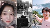 Ảnh hot sao Hàn: Sulli đáng yêu như chú mèo; J-Hope (BTS) hớn hở khi lần đầu ngắm thác Niagara