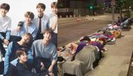 Xếp hàng dài trăm mét cắm trại ngủ qua đêm trên vỉa hè chờ concert của BTS, ARMY lên bản tin quốc tế
