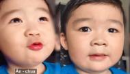 Chết cười với cách phát âm tiếng Anh của bé trai 3 tuổi người Brazil gốc Việt