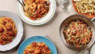 """Cầm voucher 100k dẫn """"gấu"""" đi ăn no nê 5 loại mì pasta tại nhà hàng Ý sang chảnh"""