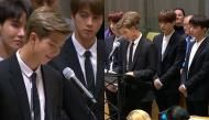 BTS đi vào lịch sử khi trở thành nhóm nhạc Kpop đầu tiên phát biểu tại Liên Hợp Quốc
