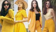 Cách diện sắc vàng vừa chuẩn trend vừa sang chảnh như mỹ nhân Việt