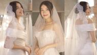 Cận cảnh 2 chiếc đầm cưới của Nhã Phương: Thanh lịch, tối giản nhưng gợi cảm 'đốn tim'