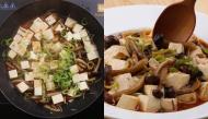 Ngán thịt thì thử làm đậu hũ om nấm linh chi đi, ít tốn kém mà lại thơm ngon khó cưỡng