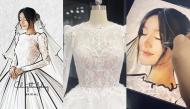 Trước giờ G, hé lộ chân dung chiếc váy bí mật mặc trong ngày cưới mà Nhã Phương giấu kín bao lâu