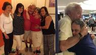 Khoảnh khắc xúc động: con trai 53 tuổi mắc hội chứng down ôm chặt bố không rời sau 1 tuần xa cách
