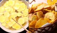 """""""Hô biến"""" khoai lang thành món snack giòn rôm rốp, ai ăn rồi cũng đều mê tít"""