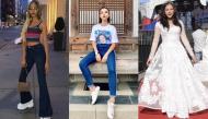 """Cùng xuất ngoại nhưng sao Việt người chọn váy áo giản dị, người làm nổi đến """"quá lố"""""""