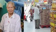 Cuộc đời đáng thương của ông cụ đứng đợi ở siêu thị mua cơm thanh lý 10.000 đồng gây xúc động mạnh