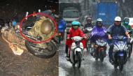 Từng có người tử vong vì kẹt áo mưa vào xe máy, đây là những điều bạn cần lưu ý trong ngày mưa bão