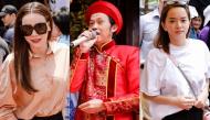Đông đảo sao Việt tề tựu tại nhà thờ 100 tỷ của danh hài Hoài Linh để dâng hương tri ân tổ nghề