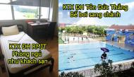 """""""Đột kích"""" những khu KTX tiện nghi nhất Việt Nam: nơi có bể bơi, nơi phòng ở như khách sạn"""