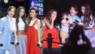 Fan Cpop nghẹn ngào khi thấy S.H.E kỷ niệm 17 năm ra mắt, các thành viên còn bế cả con lên sân khấu