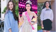 Gu thời trang đơn giản không đồ hiệu của Tân Hoa Hậu Việt Nam 2018
