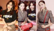 """Hai vị """"Phú Sát Hoàng Hậu"""" Tần Lam - Đổng Khiết đụng độ nhan sắc tại tuần lễ thời trang Milan"""