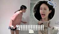 """V-Leggo lại mà xem, """"hói ca"""" Hani lại vừa có khoảnh khắc """"đội quần"""" vì bị Yoo Jung dọa thế này đây"""
