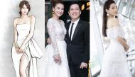 Hé lộ váy cưới Nhã Phương sẽ mặc trong ngày trọng đại: ôm sát eo và xẻ cao ngút ngàn