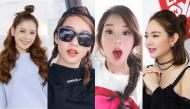 """""""Học lỏm"""" hot girl Việt cách tạo những kiểu tóc xinh xắn, trẻ trung như nữ sinh"""