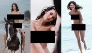 """""""Kendall Jenner - em gái nhà Kim """"siêu vòng 3"""" lộ cả bộ ảnh khoe thân 100% hoàn toàn gây sốc"""