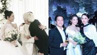 """""""Lầy"""" như cách chúc mừng đám cưới Trường Giang - Nhã Phương của Đức Phúc và Hương Giang"""