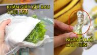 Mẹo bảo quản hoa quả và giữ rau tươi lâu hơn