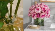 Tuyệt chiêu cắm hoa với 6 miếng băng dính: Lọ hoa đẹp ngất ngây, vụng về thế nào cũng làm được