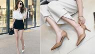 Bí kíp vàng giúp các nàng đi giày cao gót thần sầu, chuẩn như siêu mẫu mà không lo bị đau hay mỏi
