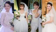 """Những bộ váy cưới """"rung động lòng người"""" của sao Việt: Không thành công chúa thì cũng hóa nữ hoàng"""