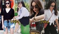Những cặp mỹ nhân Việt cùng tuổi mà như cách xa nhau cả thế hệ