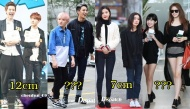 Những idol chênh lệch chiều cao nhất trong các nhóm nhạc Kpop
