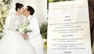 Có gì trong thực đơn những đám cưới xa hoa, lộng lẫy của loạt sao Việt đình đám?
