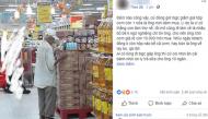 Xót xa ông lão mỗi ngày chầu chực mua cơm bán ế của siêu thị, hôm nào cơm hết đành về tay không