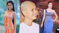 Thông tin thí sinh có mái tóc đẹp nhất Hoa hậu Việt Nam 2014 xuống tóc đi tu gây xôn xao