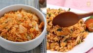 Hóa ra món cơm chiên kim chi thơm ngon đúng chuẩn Hàn dễ làm vô cùng, chỉ 20 phút là xong