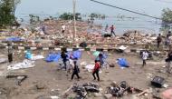 Thi thể nằm rải rác, thành phố ngổn ngang gạch đá sau trận động đất, sóng thần tại Indonesia