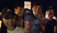 """Trung vệ Bùi Tiến Dũng xuất hiện trong livestream của bạn gái tin đồn, xưng hô """"vợ chồng"""" thân mật"""