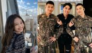 Ảnh hot sao Hàn: Jennie khoe ảnh tươi rói ở Paris, 3 chàng trai BIGBANG có dịp hội ngộ