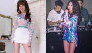 Diện cùng một kiểu áo: Bích Phương quyến rũ đến nghẹt thở, Hari Won lại trông như nữ sinh trung học